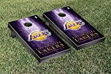Los Angeles LA Lakers NBA Basketball Regulation Cornhole Game Set Museum Version