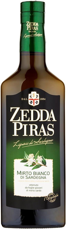 Mirto zedda piras mirto bianco di sardegna liquore a base di foglie di mirto, 30% vol 70 cl 425987