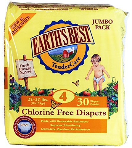 Earths Best Chlorine Free Diapers Count