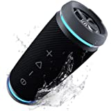 TREBLAB HD77 Revolutionary Bluetooth Speaker - Wireless Dual Pairing, 360° HD Surround Sound, Powerful Bass, Loud 25W Blue Tooth Speakers, Best Outdoor Sports Portable Speaker, True IPX6 Waterproof
