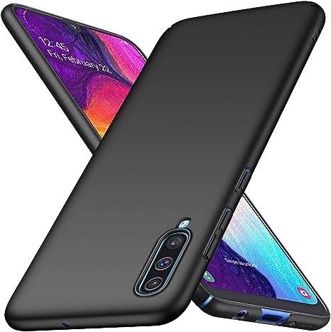 Richgle Funda Samsung Galaxy A70 / Galaxy A70S, Negro Ultra Slim Protectora Funda Case Duro Cover para Samsung Galaxy A70 / A70S RG00476: Amazon.es: Electrónica