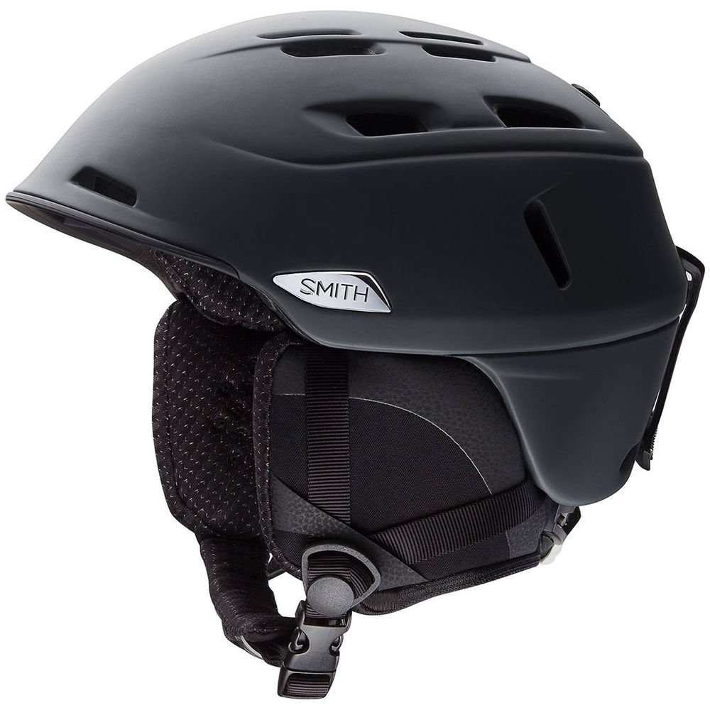 Smith Optics Camber - MIPS Adult Ski Snowmobile Helmet - Matte Black / Medium