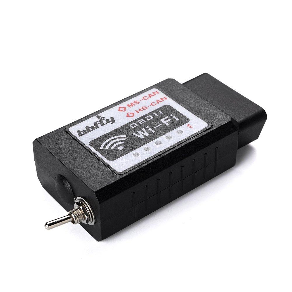 bbfly-BB77105 ELM327 WiFi-Modul Mazda-Fahrzeuge f/ür Ford- OBD2 modifiziert f/ür Forscan HS-CAN // MS-CAN f/ür iPhone und iPad