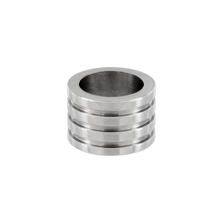 Edelstahl Bead 9 x 6 mm Loch 6,5mm AURORIS 1 St/ück