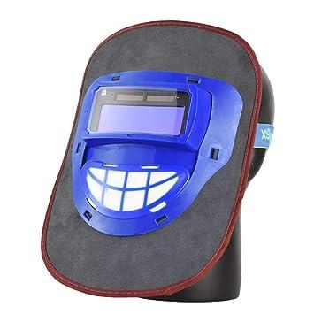 Solar Powered Máscara de oscurecimiento automático casco de ...