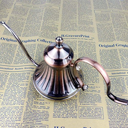 Easydeal-Stainless-Steel-Retro-Elegant-Luxury-Royal-Coffee-Maker-Pot-with-Lid-420ML