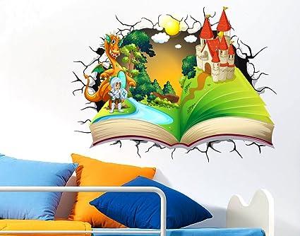 Adesivi Murali Per Bambini Adesivo Murale Effetto 3d Decorativo