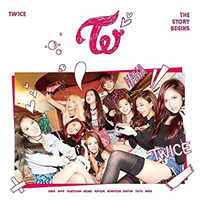 TWICE [THE STORY BEGINS] 1st Mini Album CD+Photobook+3p Card+Garland+Tracking Number