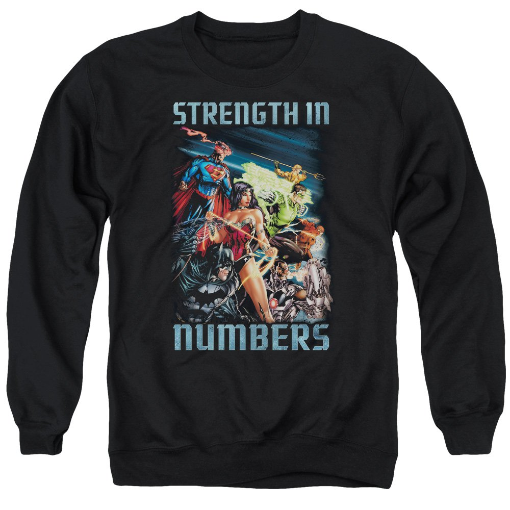 Justice League Mens Strength in Number Sweater