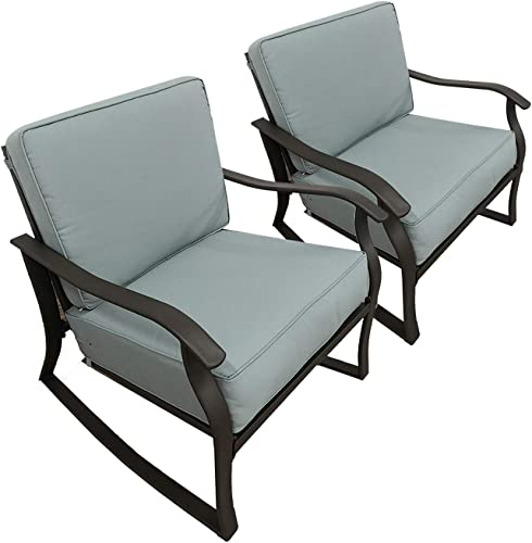 Patio Chair Set of 2 Rocking Chair