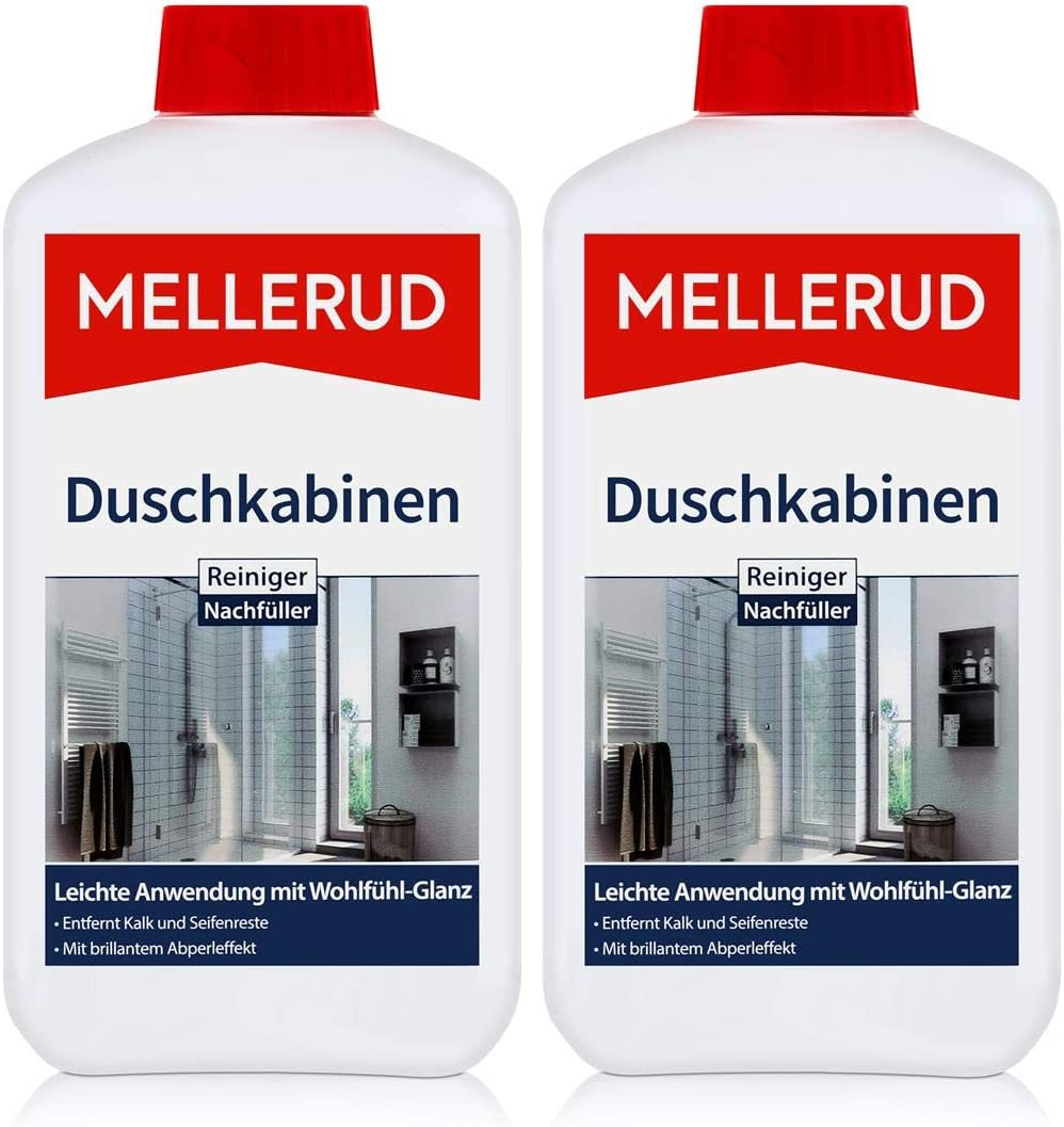 2 x Mellerud ducha limpiador para relleno 1 L: Amazon.es: Hogar
