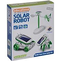 Güneş Enerjili Robot Oluşturma Seti 6 İn 1 Solar Kit