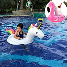 Baby Float Unicorn Swim Ring Trainer Water Float Seat Inflatable Pool Raft Baby Learn Swimming For Baby Infants (Baby Unicorn)