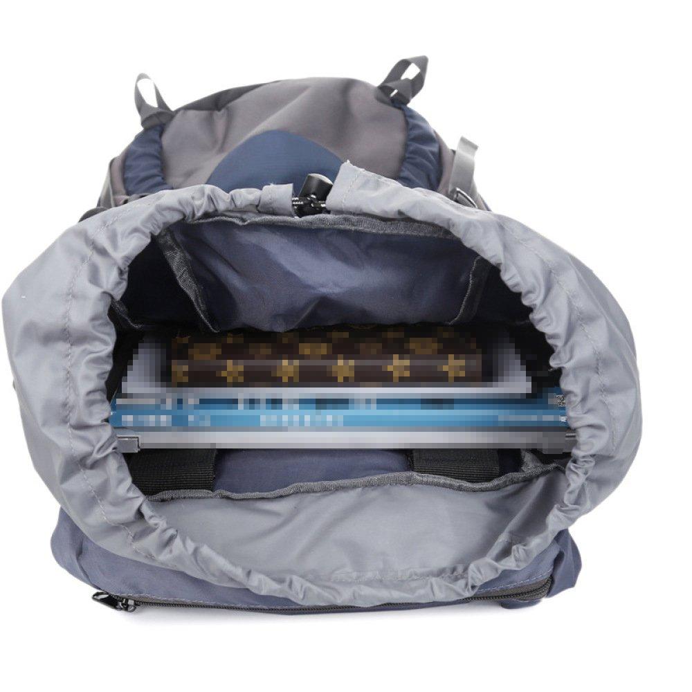 Mountain Mountain Mountain Bag Bergsteigen Camping Rucksack Für Männer Outdoor Wandern Tasche Schulter 60L Reise Rucksack Nylon Wasserdicht B07D7Y9H85 Trekkingruckscke Die Farbe ist sehr auffällig cd3362