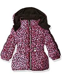 Baby Girls' Infant Cheetah Print Puffer Jacket