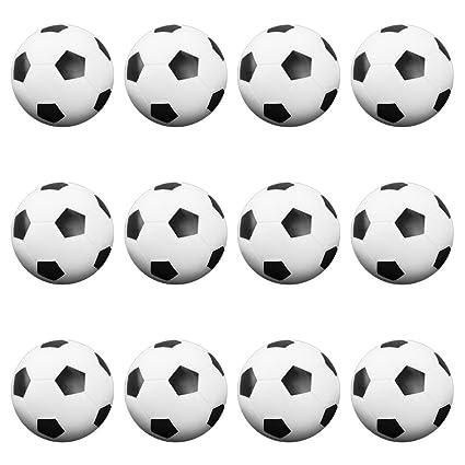Amazon.com: 12-Pack de Foosballs, 36 mm Tamaño Estándar para ...