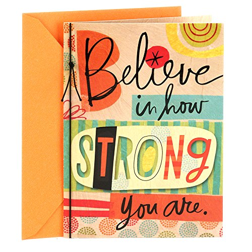 Hallmark Encouragement Greeting Believe Strong product image