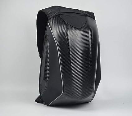 carcasa r/ígida de fibra de carbono impermeable senderismo,camping de gran capacidad para viajes ciclismo,bolsa de almacenamiento para c/ámara Mochila para casco de motocicleta ligera port/átil