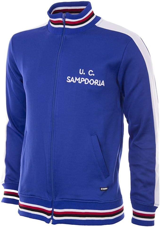 copa U. C. Sampdoria 1979-80 Football Jacket Chaqueta de Cuello ...