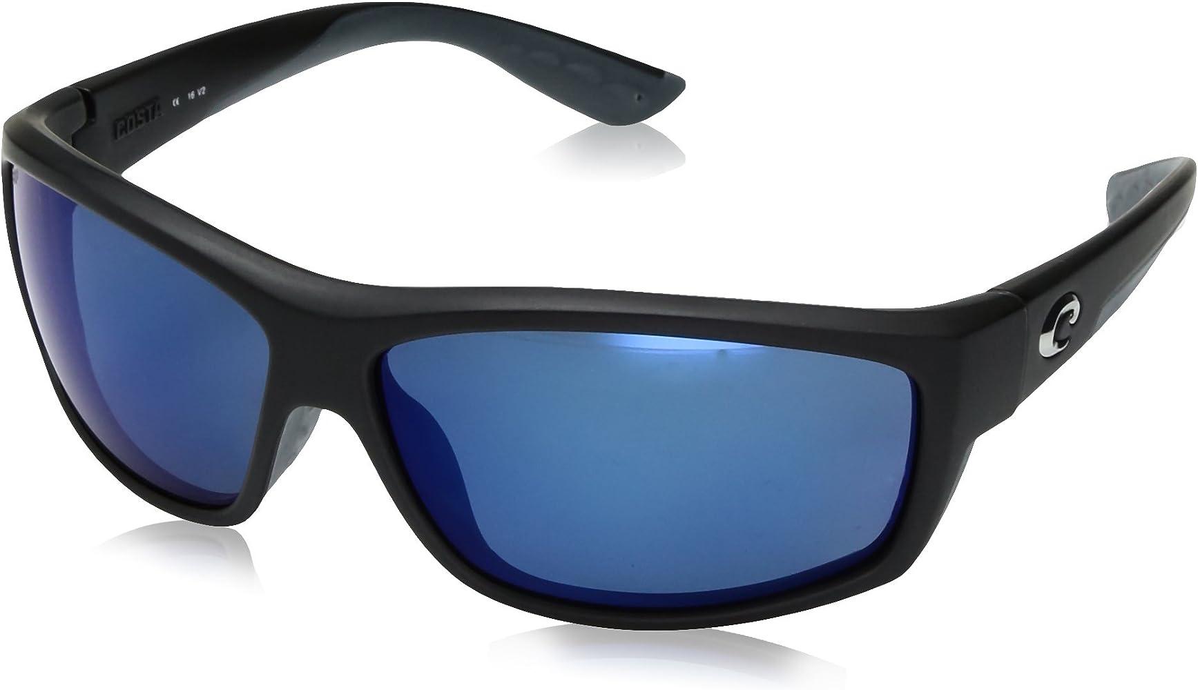 690da43e7a9d Costa Del Mar Saltbreak 580P Saltbreak, Black Blue Mirror, Blue Mirror