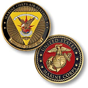 Marine Corps Air Station - Cherry Point, NC Challenge Coin