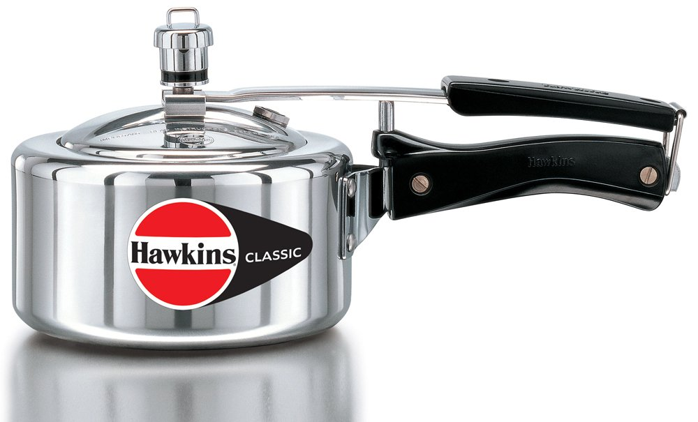 Hawkins Classic Aluminum 1.5 Litre Pressure Cooker