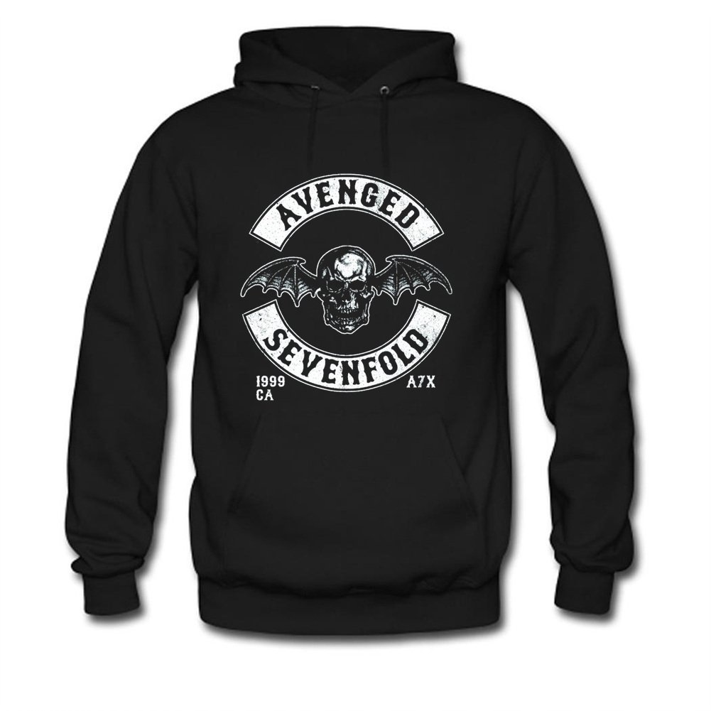 Avenged Sevenfold Deathbat Crest Printed For Mens Hoodies