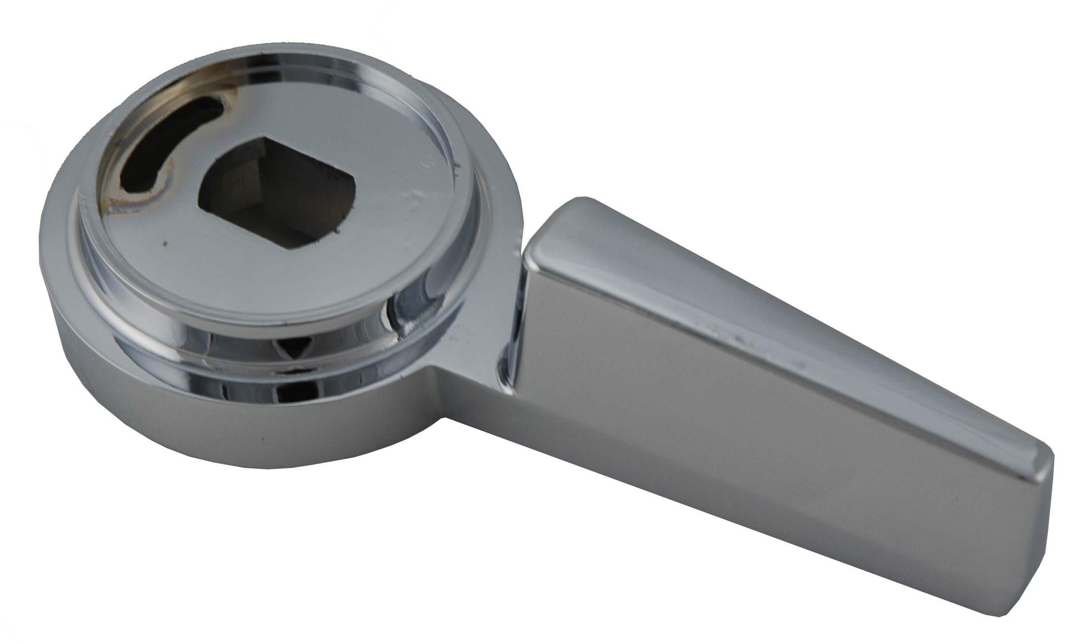 Generic Mixet MRH-MET Shower Temperature & Volume Control Metal Handles, Chrome Finish - By Plumb USA 34453 & 34461