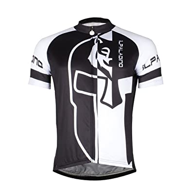 Hstyle Ilpaladino Mens Cycling Jersey Biking Shirt Road Cycling Jacket with  Pockets Short Sleeve Breathable Quick 70f0e91d2