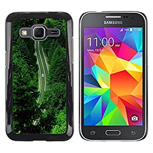 iKiki Tech / Estuche rígido - Summer Green Hope Nature Drive - Samsung Galaxy Core Prime SM-G360