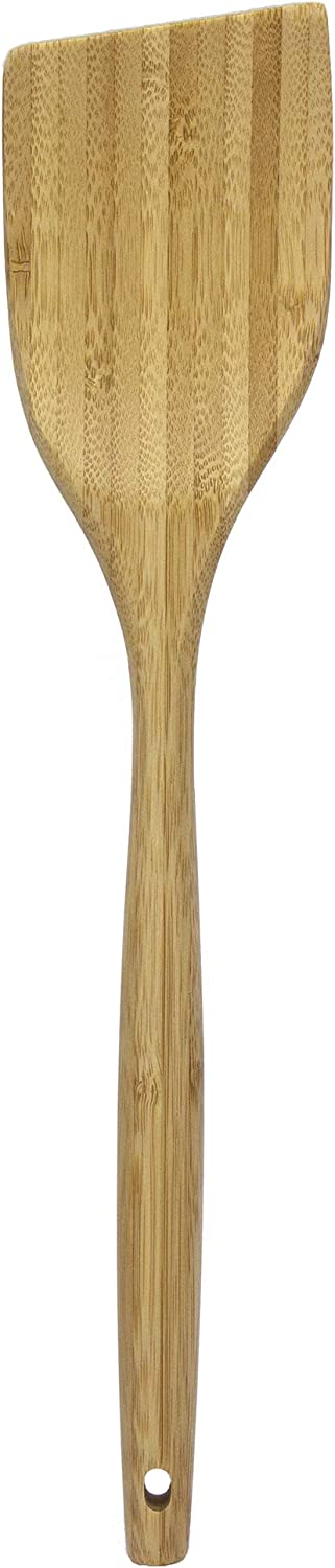 Totally Bamboo Angled Spatula Bamboo Cooking Utensil