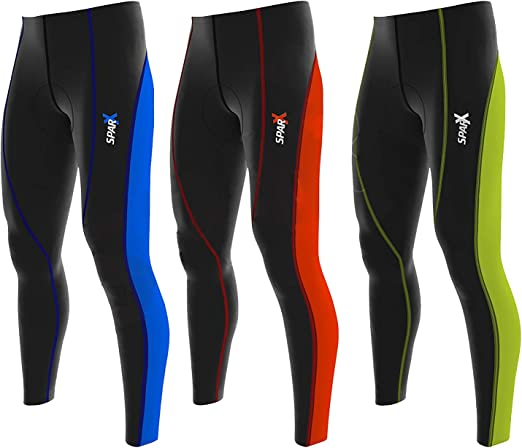 Sparx Men/'s Super Roubaix Thermal Cycling Tights Legging Outdoor Riding Cool Max