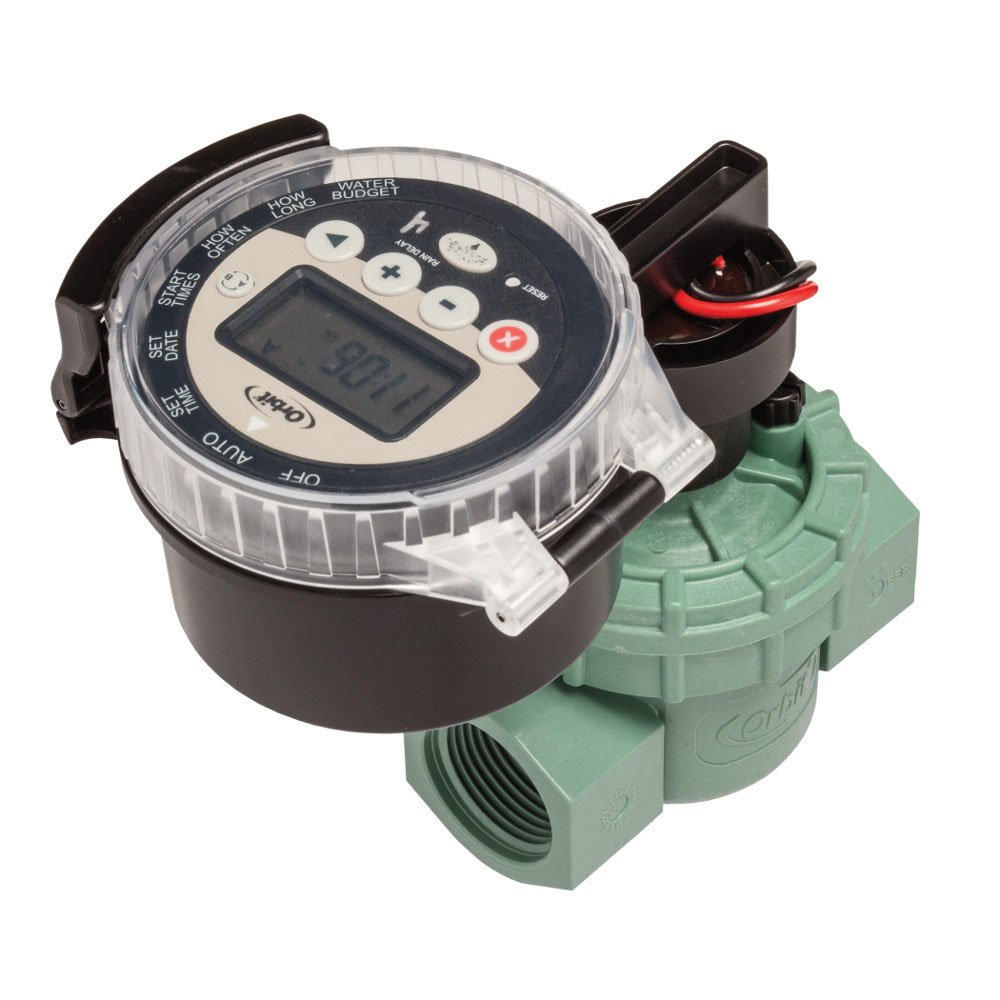 Orbit WaterMaster Battery Operated Sprinkler Timer with Valve