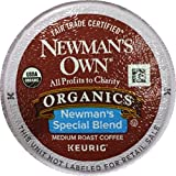 Newman's Own Organics Special Blend Coffee K-Cups (100 K-Cups) - Packaging May Vary
