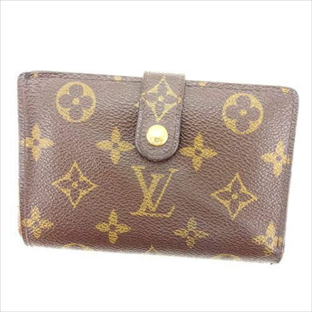 ルイヴィトン Louis Vuitton がま口財布 二つ折り メンズ可 ポルトモネ ビエヴィエノワ M61663 モノグラム 中古 T11247   B07R67VZ7G