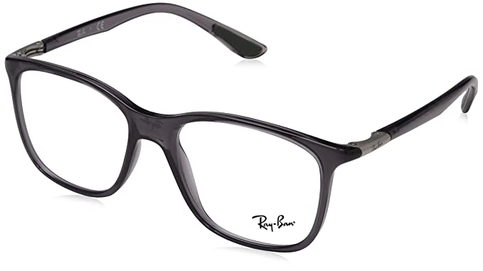 fecd982da9 Image Unavailable. Image not available for. Color  Ray-Ban Unisex RX7143  Eyeglasses ...