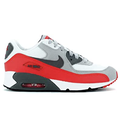 finest selection 74fdd 6b869 Nike Air Max 90 (PS) Kinder rot weiß Gr. 28