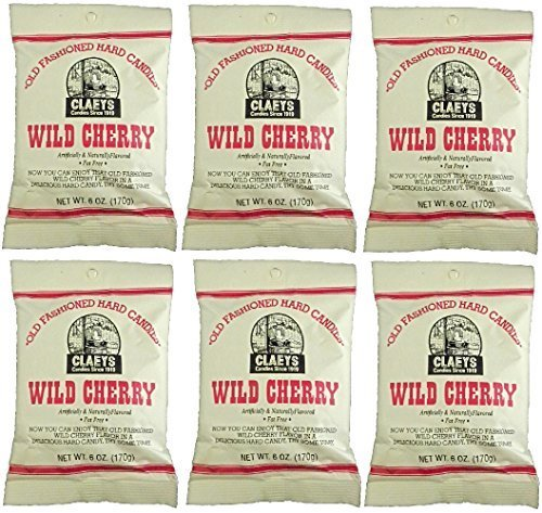 (Claeys Wild Cherry Sanded Candy Drops ~ 2 Lbs ~ Old Fashioned Flavor by Claeys)