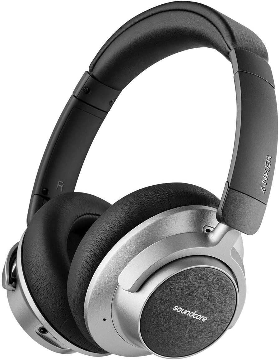 Soundcore Space NC Wireless Noise Canceling Headphones with Soundcore by Anker Touch Control, 20-Hour Playtime, Bluetooth 4.1 Renewed