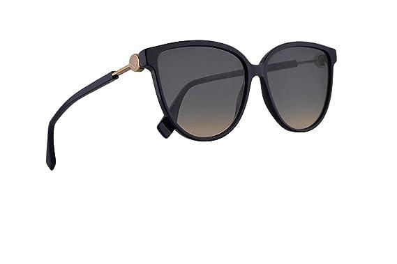 Fendi FF0345/S Gafas De Sol Azul Con Lentes Azul Degradados ...