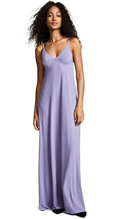 3f008a4146b Norma Kamali Women s Slip A-Line Long Dress at Amazon Women s ...