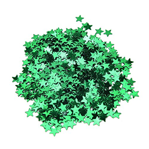 6Mm/10Mm Stars Table Confetti Sprinkles Birthday Party Wedding Decoration Sparkle Blue Gold Silver Green Metallic Stars Supply