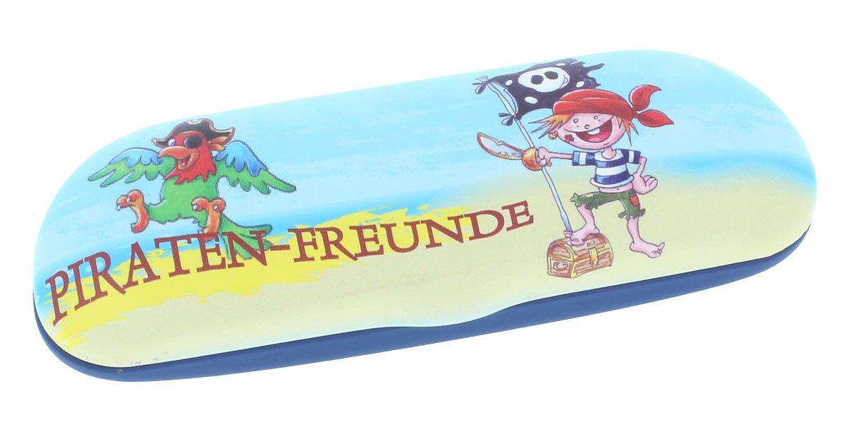 Brillenetui für Kinder Piratenfreunde Motiv 15 / Hartschale Duggert GmbH