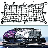 "16""x32"" Super Duty Bungee Cargo Net Stretches to 32""x64"" 