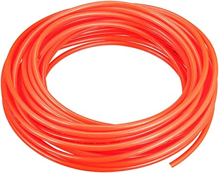 x 2.5mm ID PU Tube Air Tubing Pipe Hose OD 10 Meter Orange Color 4mm