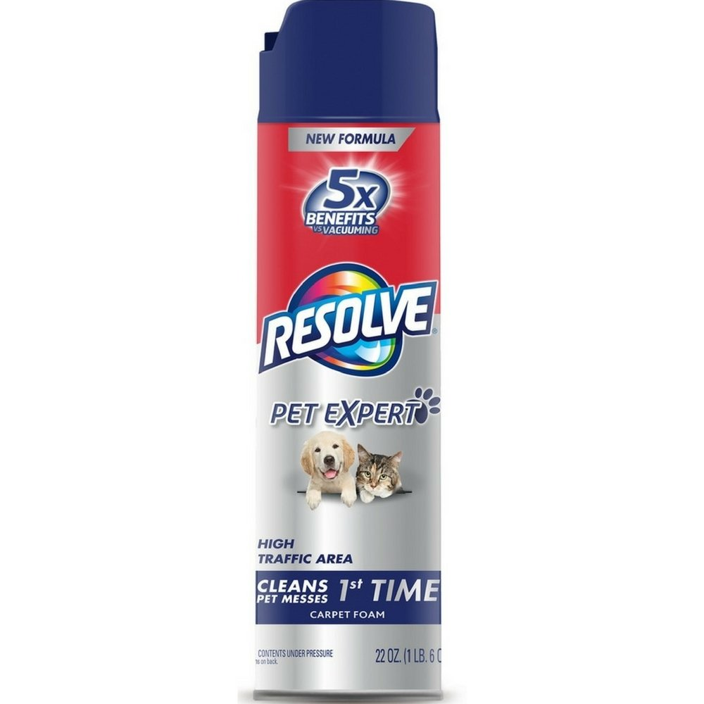 Resolve Pet Expert High Traffic, Carpet Foam, 22 oz RECKITT BENCKISER 1920083262