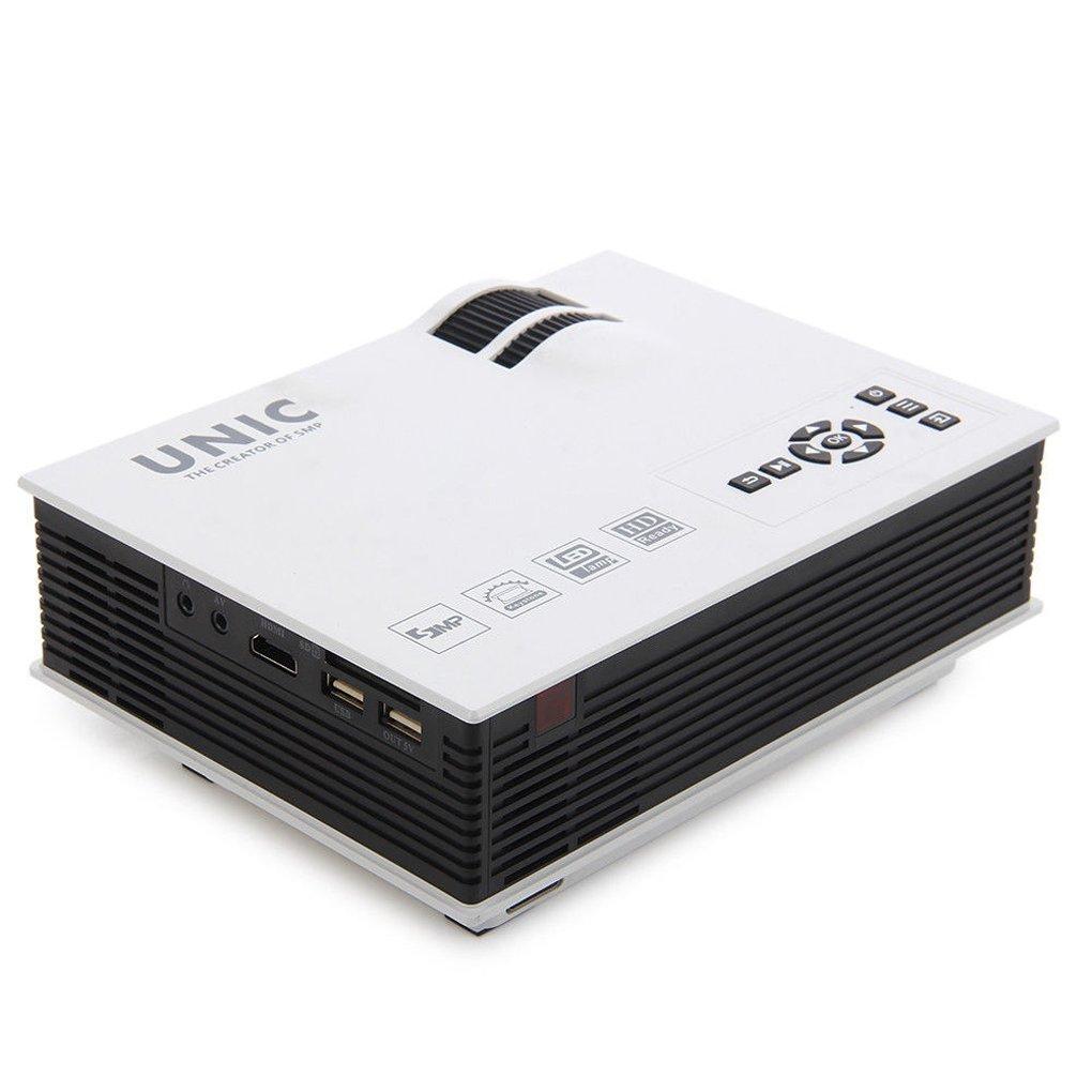 Mengonee Unic UC40 + Mini Pico proyector portátil 3D HDMI de cine ...