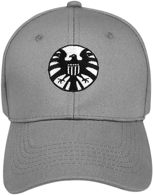 MINGZUO Capitán Cosplay Hat Marvel Hat Logo Gorras de béisbol ...