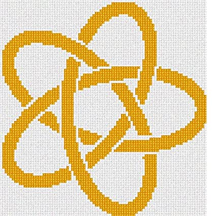 Amazon com: Pepita Celtic Knot 8 Needlepoint Kit