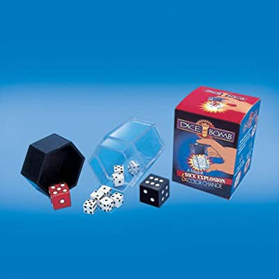 Empire Magic Dice Bomb Trick: Toys & Games
